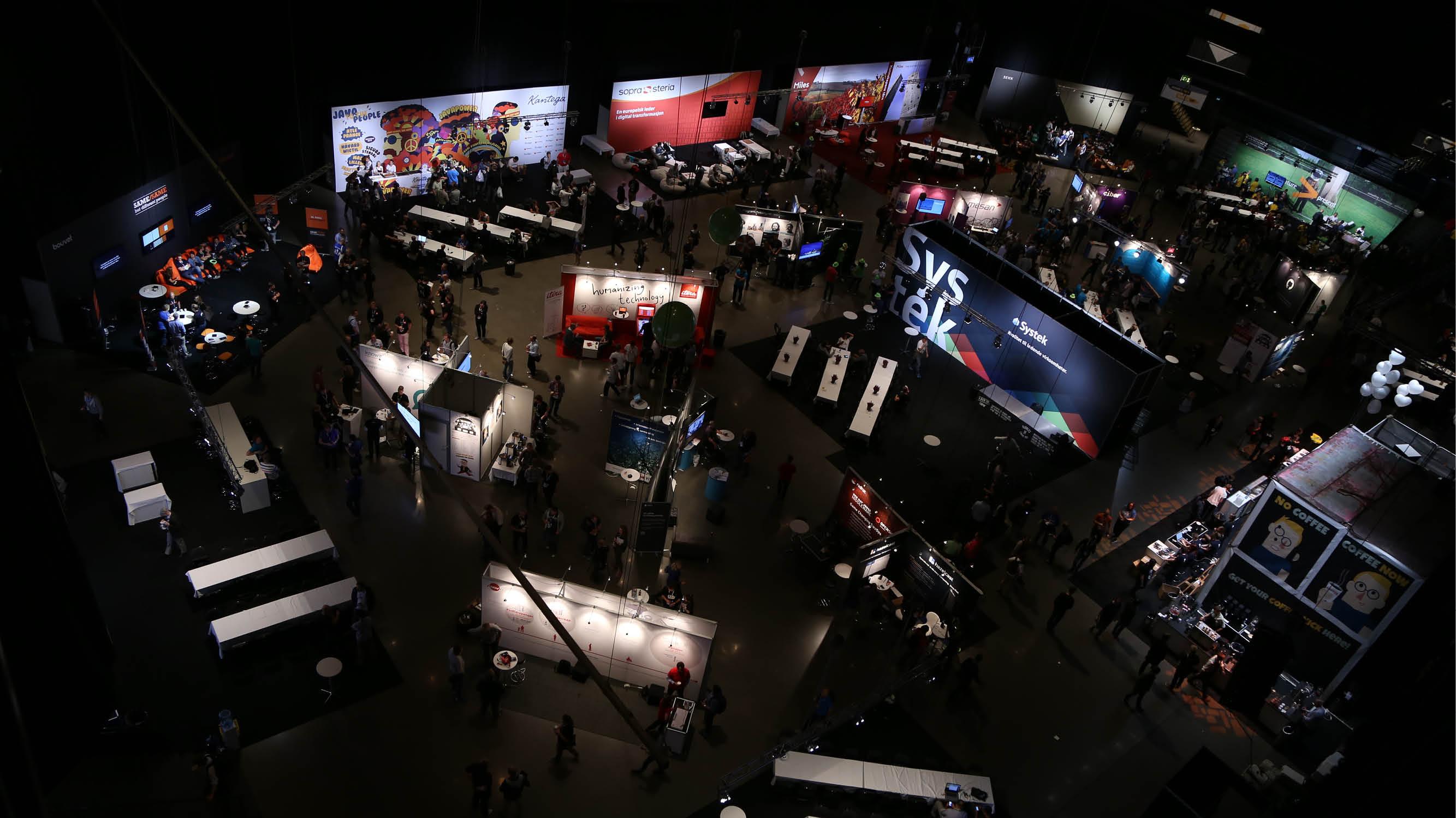 JavaZone expo area